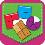 Fractions Matching Game App Icon