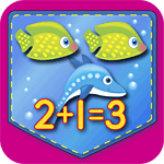 Single-Digit Addition/Subtraction Matching Game App Icon