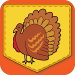 Happy Thanksgiving! Match Game App Icon